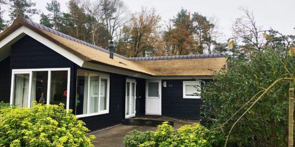 mooie woning met een kunstriet dak